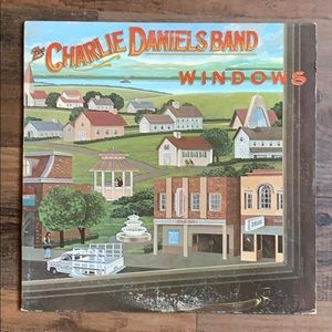 The Charlie Daniels Band vinyl record